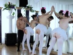 amateur woman backdoor couch ballerinas