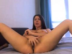 sexy brunette morning glory webcam show
