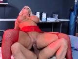 Blonde nurse Alura Jenson loves sucking cock