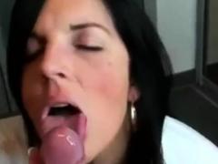 extremly teasing blowjob