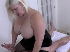 hard cock for sexy granny