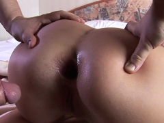 Big Cock Fits In Her Small Ass