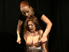 big titted sub babe muffin tormented by mistress