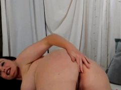Busty Brunette Reveals Kinky Tricks On Webcam Show Porn Video