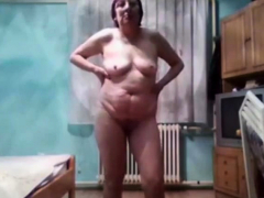 a wife on webcam
