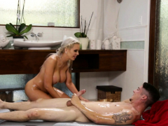 Busty Mommy Nina Elle Nuru Massage