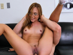 Dishy Barely Legal Brunette Jenny Jett's Muff Drilled