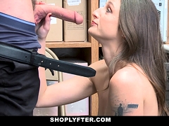 Shoplyfter – Security Officer Caught And Fucked Hot Thief