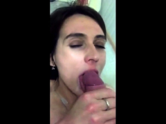 amateur girl jizz in mouth