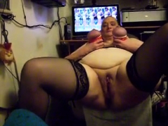 Fetish Bbw Granny Takes Huge Cum Facial