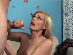 Hot milf Darryl Hanah goes mad when her step-son comes home