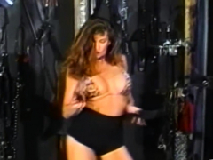 Nasty Lesbian Fetish Using Lube and a Brutal Strapon