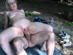 ugly-old-granny-rough-outdoor-banged