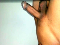 Penis erection - Flaccid to fully erected big cock