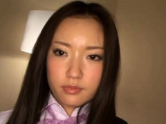 Fresh oriental gal Meisa Aoi flirts and gets licked