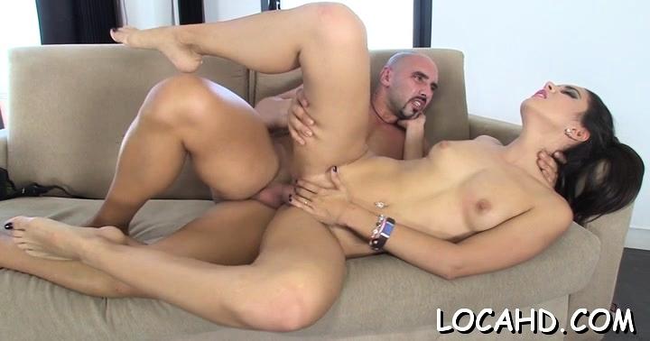 Tasty latin Carolina Abril bounces on dick