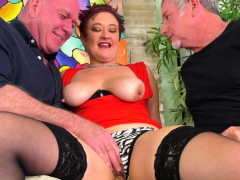 Mature Scarlett O Ryan Used by Five Men