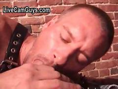 Deep Throat Leather Men