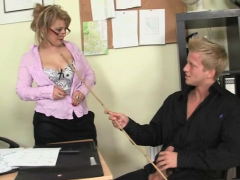 Busty Office Milf Loves Riding His Big Meat