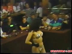 my girl dancing at my company's bikini contest