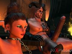 fire demon fucks hard a beautiful blonde in the dark castle – xtinder.net