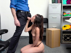 Shoplifter Gianna Gem Rides Dudes Cock For Freedom