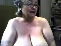 the-fat-and-saggy-gran-is-singing-and-showing-tits
