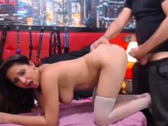 Hottie Give Her Partner A Lovely Deep Throat Suck Job