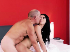 Old4k. Dad Knows How To Caress A Young Lady Madelina Dee