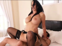 Horny milf get fucked hard by her step son