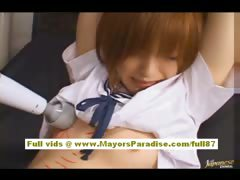 Azusa Itagaki Hot Asian Chick Has A Sexy Body Is Tied Up