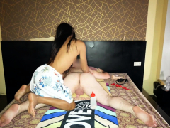 Thai Shemale Aemy Gives Guy Dirty Massage