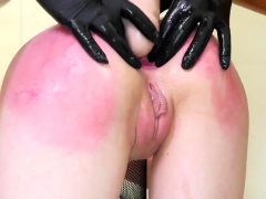 Bondage pussy teased and strap punishment This is our