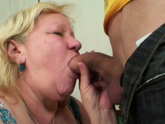 She Finds Him And Old Busty Mother In Law Taboo Sex