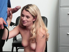 Cute Abby Adams Fucked Hard From Behind By A Mall Cop
