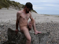 cum-on-the-beach