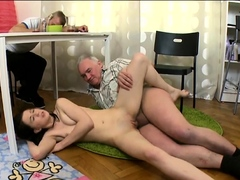 Mesmerizing Barely Legal Russian Babe Gets Lovebox Fucked