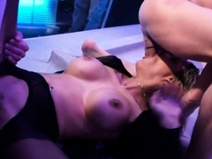 Uncensored orgy pleasuring with lusty sweethearts and guys