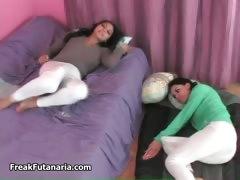 Busty Brunette Lesbian Girls Gracie Part2