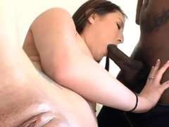 Spicy nipponese beauty Bliss conquers a huge phallus
