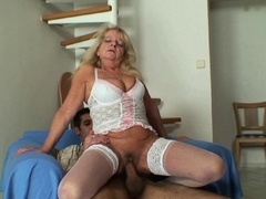 old-blonde-motherinlaw-sucks-and-rides-his-huge-dick