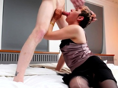 tutor4k. porn actress plays professor who takes hard penis