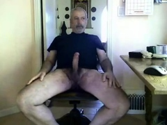silver-daddy-bear-jerk-off