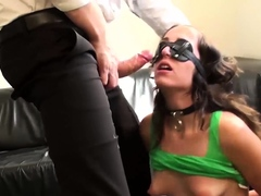 Amazing Liz Rainbow Pussy Punished by Daddy