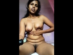 Indian mom who is happy with new big toy