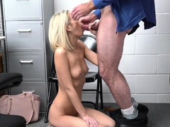 Teen Gave Cunt And Footjob To Avoid Jail