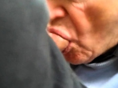 old man suck my cock (in the park)