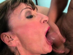Mature cougar pussy stretched hardcore fuck