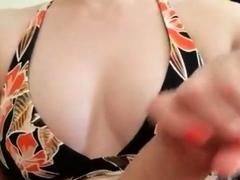 Perky Bikini Handjob
