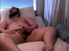 Bear Chub Cums on Webcam